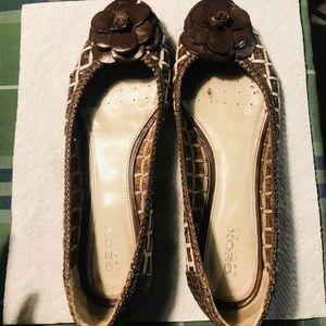 Geox Ballerina Leather